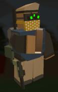 Player holding Chocolate Bar