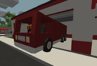 Fire truck station