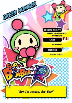Green Bomber card