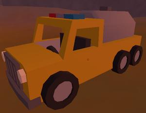 Fire tanker