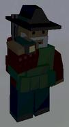 Player holding Flashlight