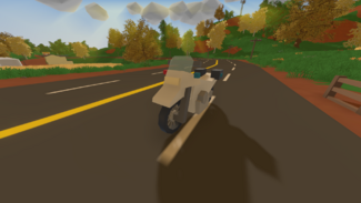 Police dirtbike