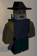 Player wearing Fedora