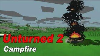 Unturned 2 Crafting Campfire