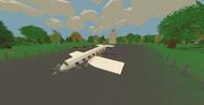 Canada crashed airliner
