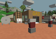 Gas front