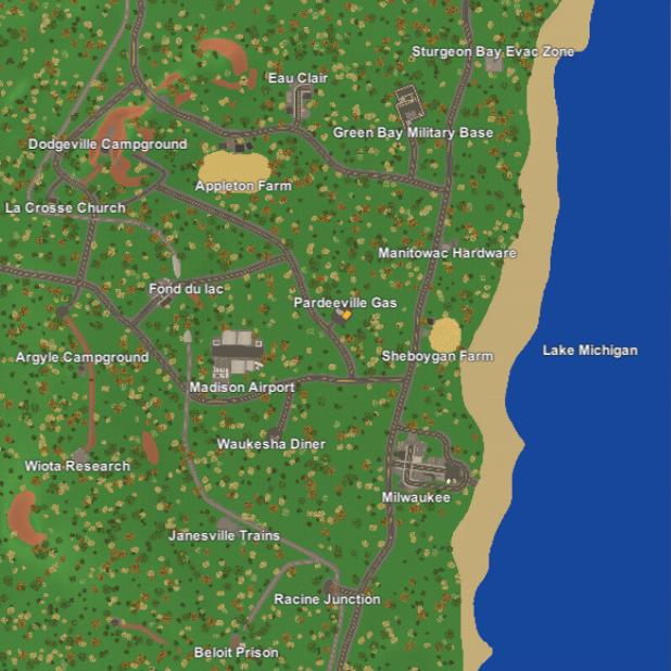 Making Wisconsin Map Unturned Bunker Wiki Fandom Powered By Wikia