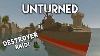 Unturned Destroyer Ship Raid! (Roleplay Survival)