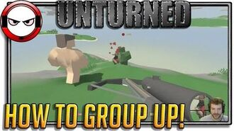 Unturned Multiplayer grouping tutorial (How to group up in Unturned)