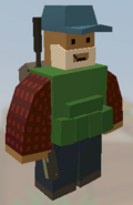 Player wearing Blue Cap