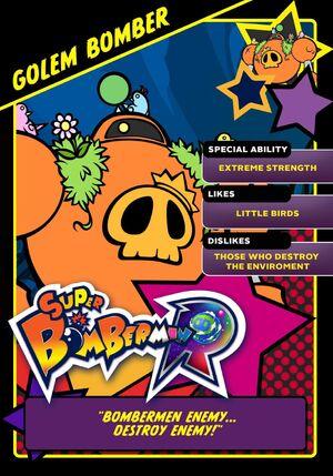 Golem Bomber card