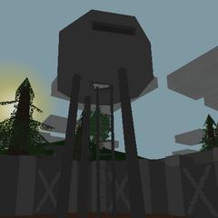 Torre de vigilancia de la Base