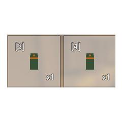 Comparación entre un jugo podrido y uno normal,el de la izquierda es el podrido y el de la derecha el normal.Notese que en ambos estados el jugo tiene el mismo icono