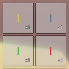 Barra luminosa y sus distintos colores.
