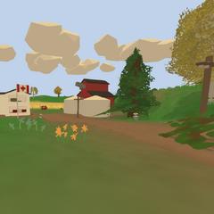 Entrada a la granja