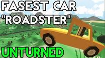 Unturned Fastest Vehicle! (Roadster)