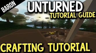 Unturned Crafting Guide - Crafting Recipes - Baron's Survival Guide Part 1