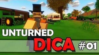 Unturned Dica - Movimentando Itens de Maneira Rápida!