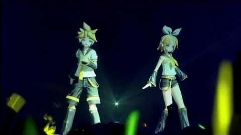 Butterfly On Your Right Shoulder Live - Kagamine Rin Len Migikata no Chou antonio7v
