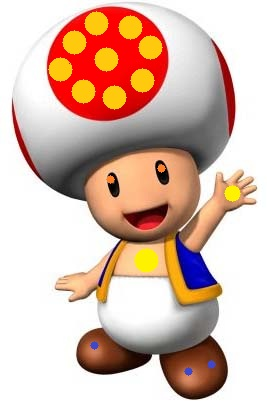 Toadz character