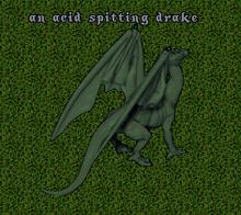Acid Spitting Dragon