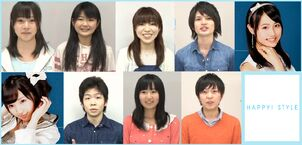 Screenshot of the members from their Introduction videos