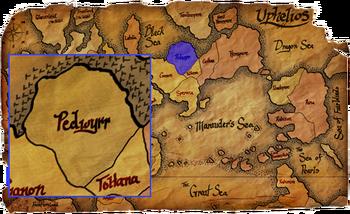 Pedwyrr map copy
