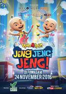 Poster Upin & Ipin Jeng Jeng Jeng!