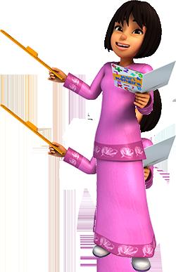 Melati Upin Ipin Wiki Fandom Powered By Wikia