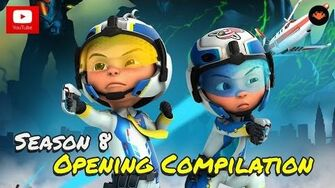 Upin & Ipin - Season 8 Opening Compilation HD