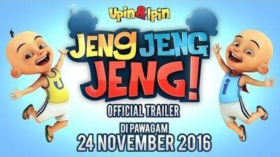 Official Trailer Upin & Ipin Jeng, Jeng, Jeng!