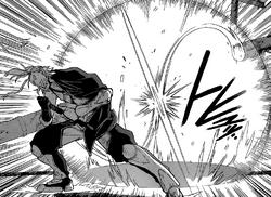 Nagumo's Spacial Displacement