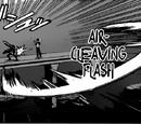 Air Cleaving Flash
