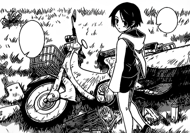 File:Shinobu with her motorbike.png
