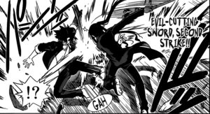 Evil Cutting Sword Second Strike