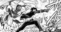 Kaito's surprising attack