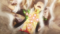 Touta is defeated
