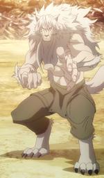 Kaito's Werewolf form