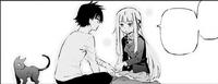 Ayaka asking Kyouichi not to worry her