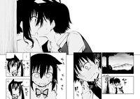 Kyouichi and Natsuho kiss