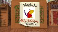 Wanted Iago Reward by Uranimated18