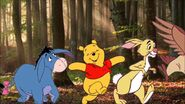 Winnie the Pooh and Friends Walks into Forest by Uranimated18