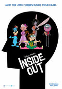 Inside Out (Uranimated18 Style) Poster