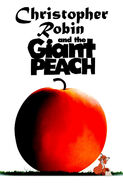 Christopher Robin and the Giant Peach Poster