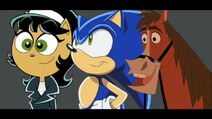 Sonic, Kitty Katswell and Buck Saves the Day by Uranimated18