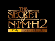 The Secret of NIMH 2 Cody to the Rescue