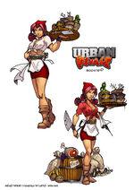 Urban Rivals Bonnie