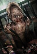 Darren Shan's Zom-B Baby. Copyright 2013 Cliff Nielsen