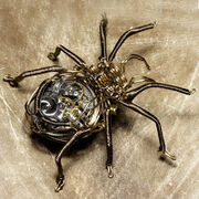 Steampunk Brass Spider