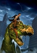 Sue zombie t-rex